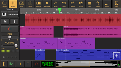 Screenshot #1 pour Audio Evolution Mobile Studio