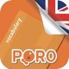 PORO - 英語の語彙