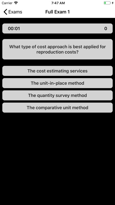 Real Estate Appraiser Exam screenshot 2