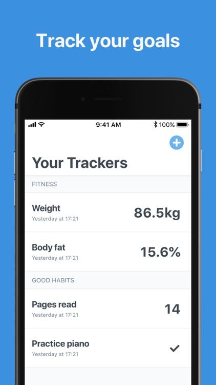 Goal Tracker: Reach your goals