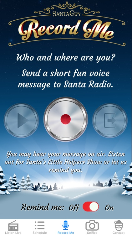 Santa Radio screenshot-3