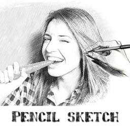 Pencil Sketch-Sketch Cartoon