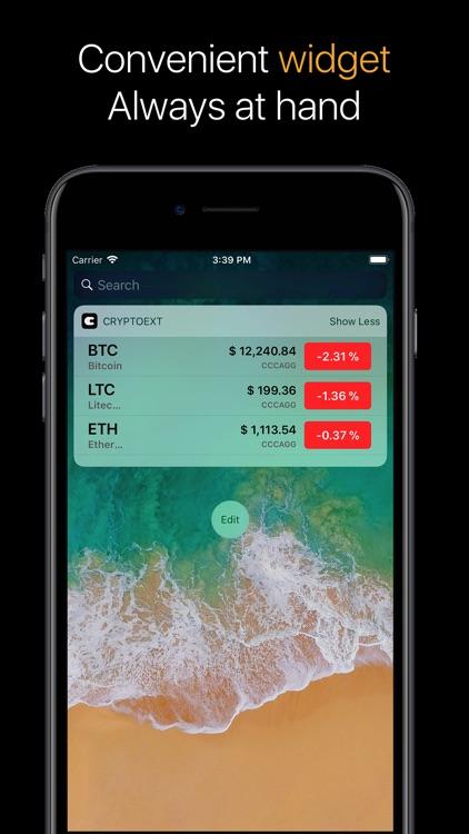 Crypto - rates screenshot-3