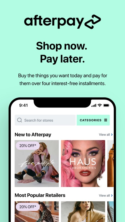 Afterpay - Shop Now, Pay Later
