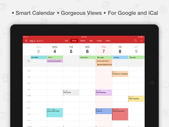 Screenshot #1 for Tiny Calendar Pro