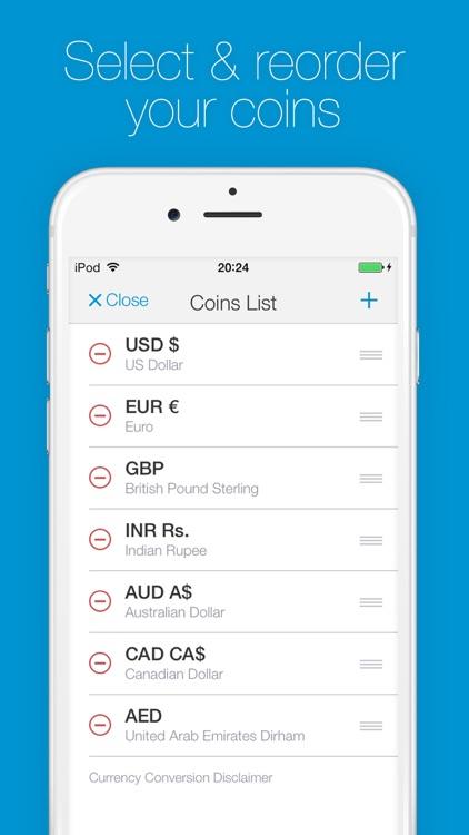 Change - Currency Converter screenshot-4