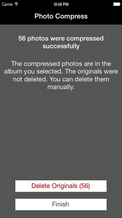 Photo Compress - Shrink Pics screenshot-4