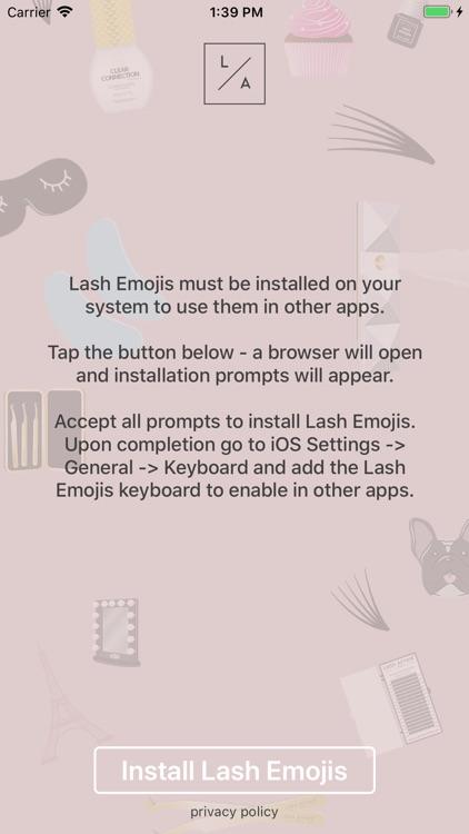 Lash Emojis screenshot-4