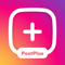 App Icon for Post Maker for Insta: PostPlus App in Colombia IOS App Store