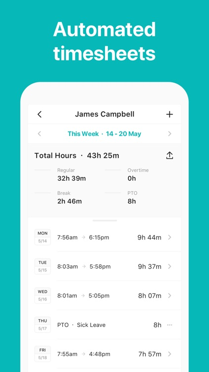 ATTO: Timesheets for Employees screenshot-4