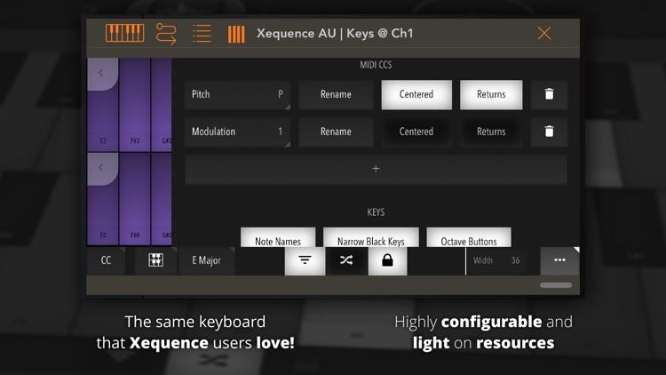 Xequence AU   Keys screenshot-3