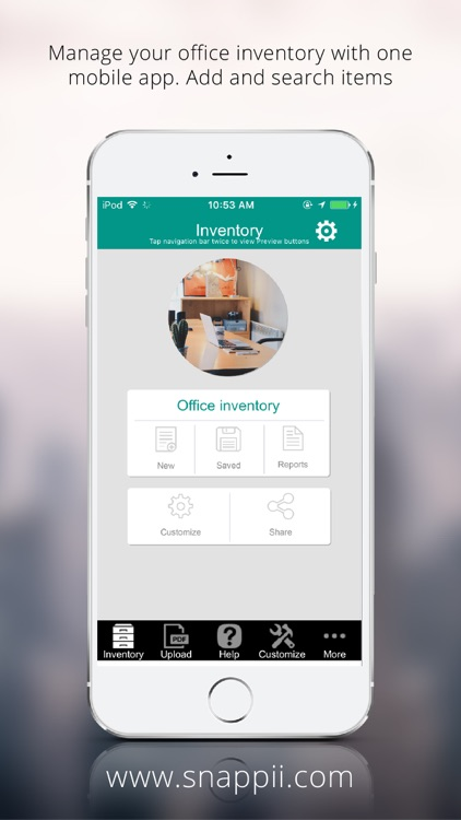 Office Inventory App screenshot-0