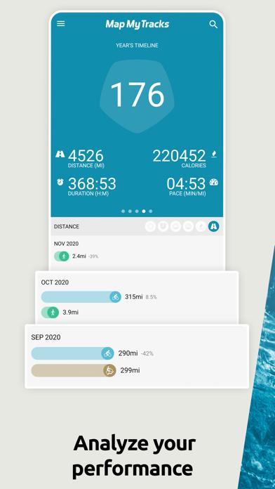 Map My Tracks: run tracker proのおすすめ画像4