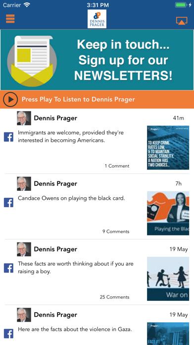 Dennis PragerScreenshot of 1