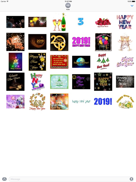 Animated Happy New Year Gif screenshot 3