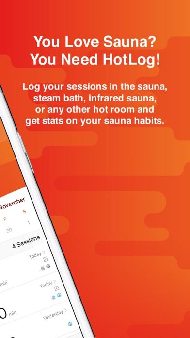 HotLog - Sauna Session Trackerのおすすめ画像2