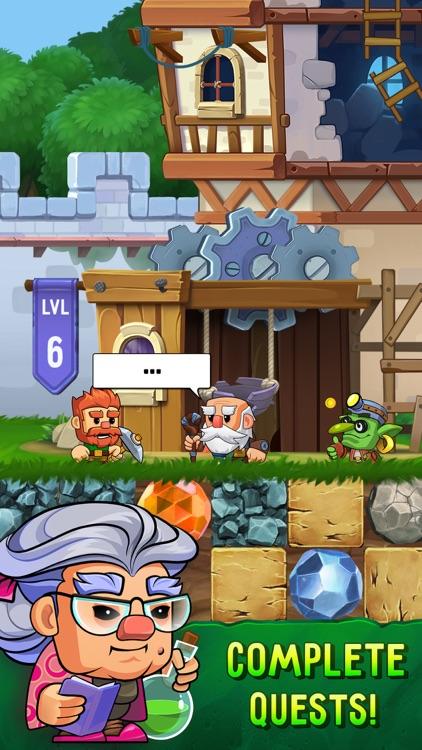 Dig Out!: Gold Miner Adventure screenshot-4