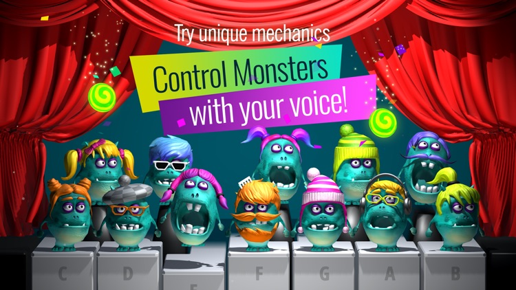 Piano Monsters: Fun music game