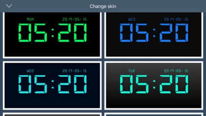 デジタル時計 - LED 目覚まし時計のおすすめ画像5