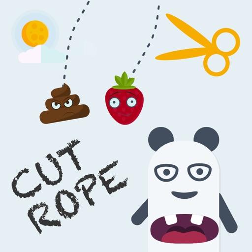 Panda Rope — режь веревку