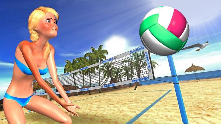 Beach Volleyball OverTheNet screenshot-4