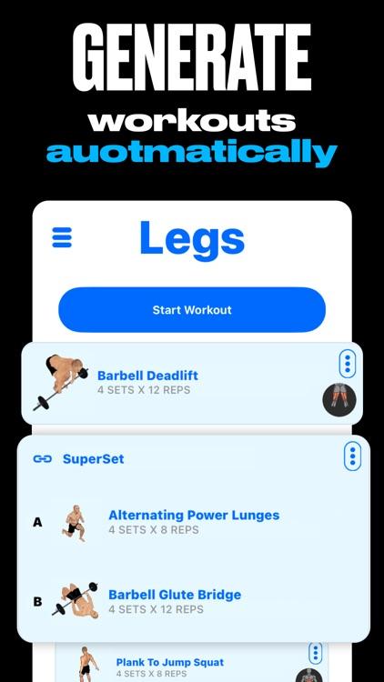 GymStreak: Workout Planner AI screenshot-6