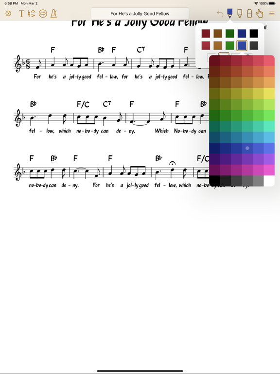 Paperless Music Screenshots