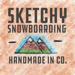 Ícone do app Sketchy Snowboarding