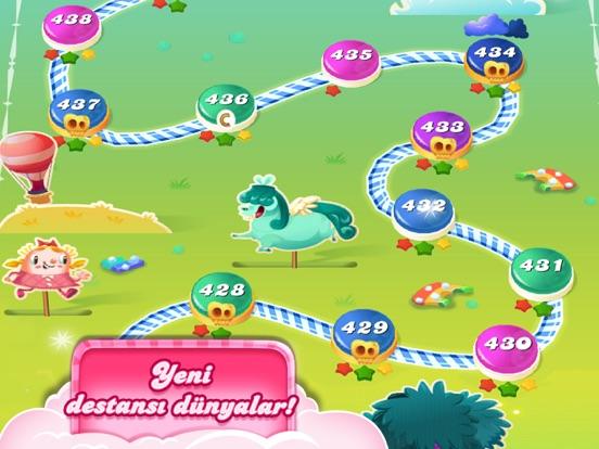 Candy Crush Saga ipad ekran görüntüleri