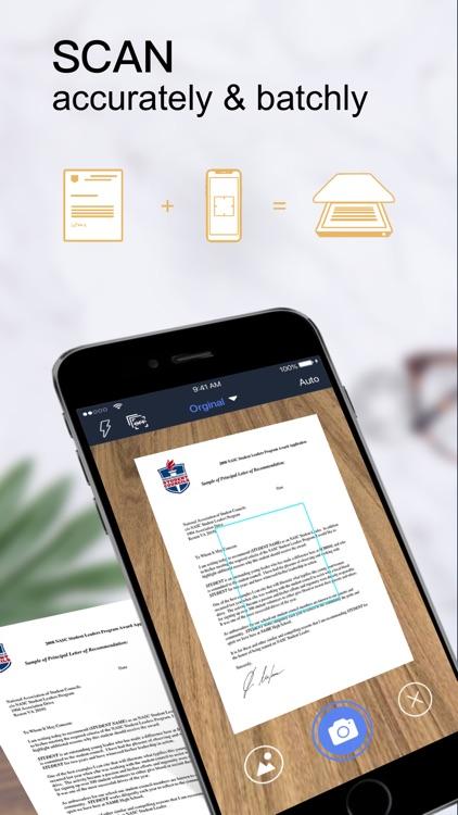 Scanner App:PDF Document Scan+ screenshot-0