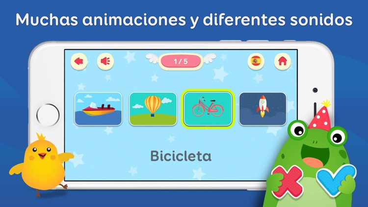 Spanish & English for Kids screenshot-3