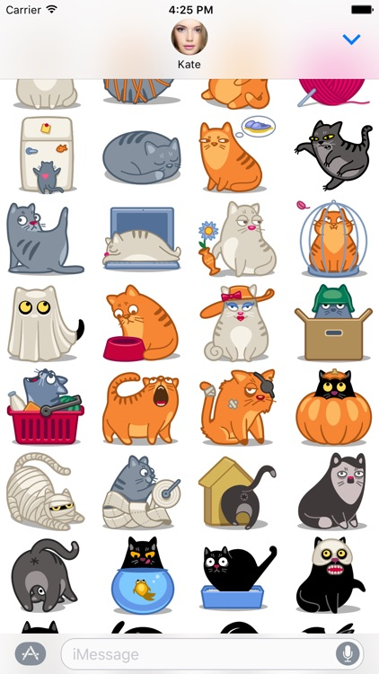 Cat Stickers Pack