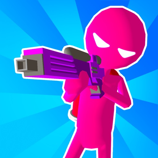 Paintman 3D - Stickman shooter