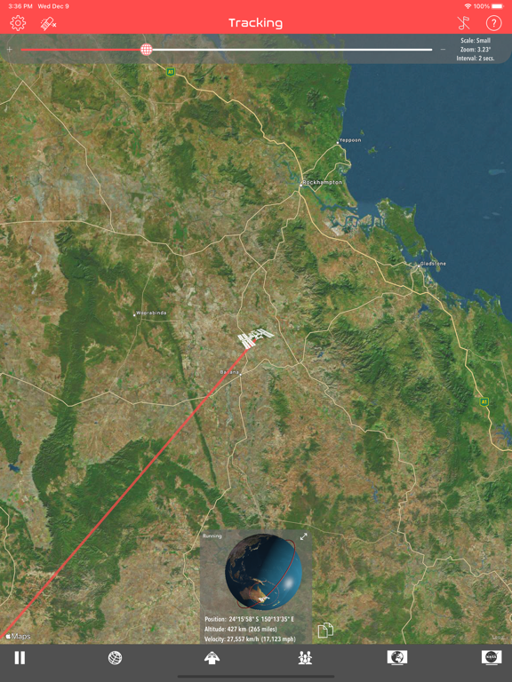 Screenshot #4 pour ISS Real-Time Tracker 3D