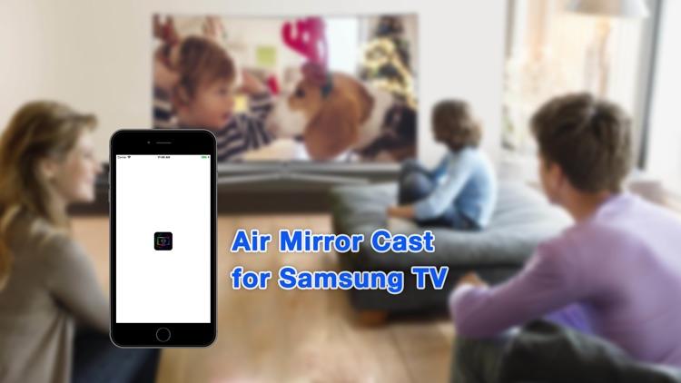 Air Mirror Cast for Samsung TV