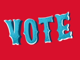 * * * FREE ANIMATED VOTE STICKERS * * *