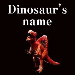 Dinosaur's name