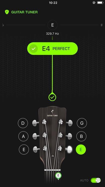 GuitarTunio - Guitar Tuner screenshot-7