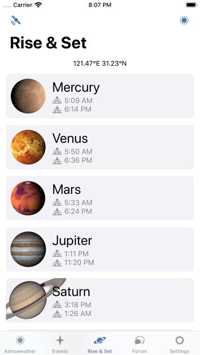 Astroweather - astronomy toolsのおすすめ画像4