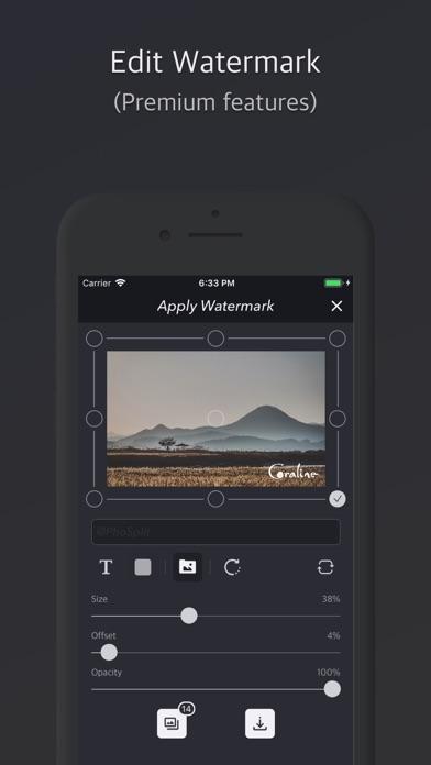 PhoSplit - Photo split & edit