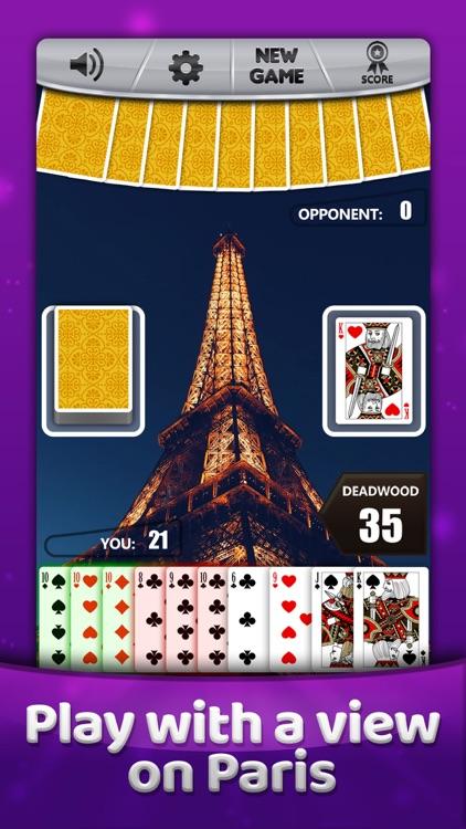 Gin Rummy * Classic Card Game screenshot-4