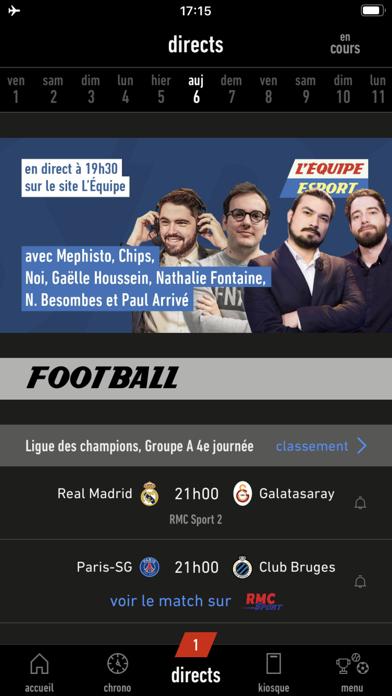 messages.download L'EQUIPE, sports en direct software