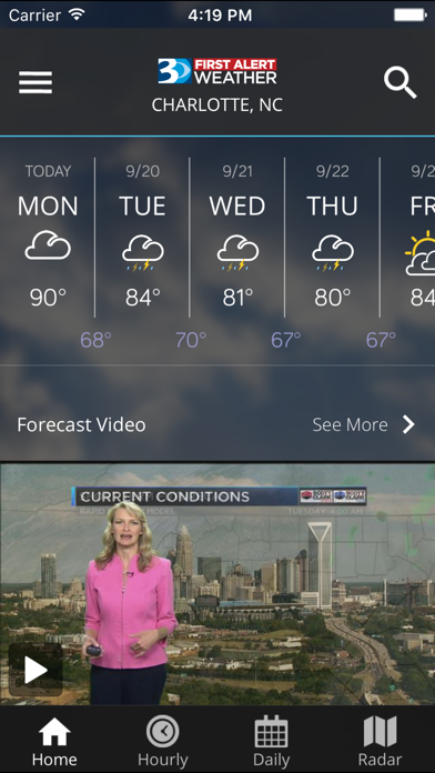 Wbtv First Alert Weather review screenshots