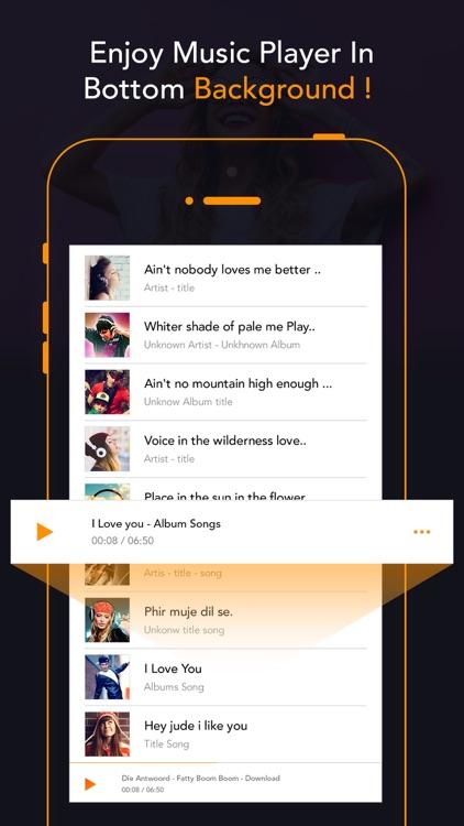 Video to MP3 - Music Player screenshot-3