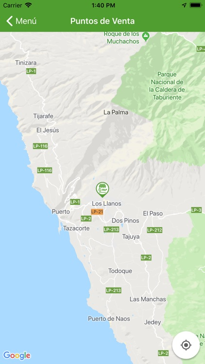 Transportes Insular La Palma screenshot-3