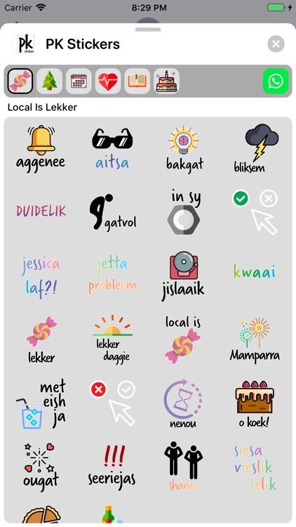 PK Stickers