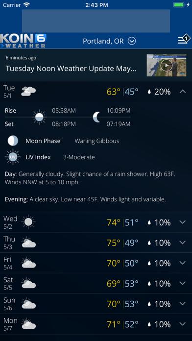 PDX Weather - KOIN Portland ORのおすすめ画像2