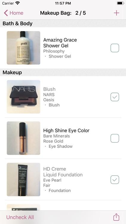 myBeautyCache Makeup Organizer screenshot-6