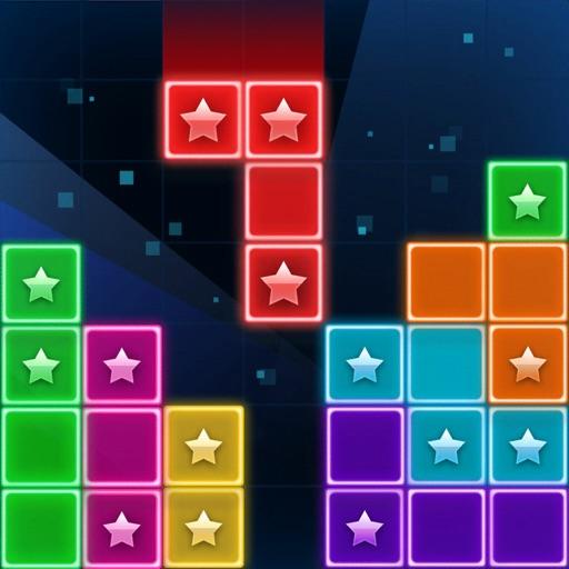 Glow Block Puzzle Game