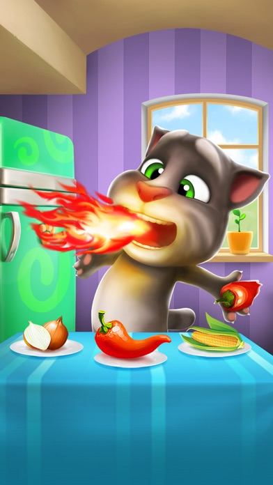My Talking Tom Screenshot on iOS